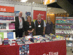 With the Infoa team on the Collins/Info stand